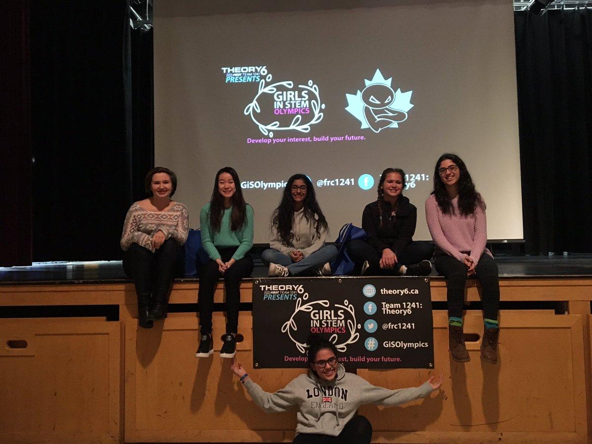 Girls in STEM Olypmics